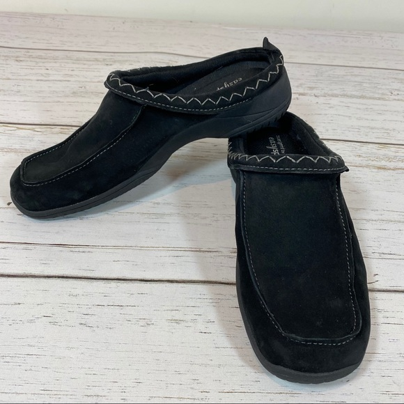 Easy Spirit Shoes | Black Ocalat Clogs